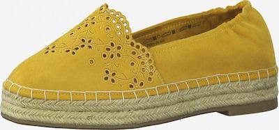 TAMARIS Espadrilles in Yellow / Mustard, Item view