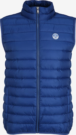 North Sails Steppweste Crozet Vest in blau, Produktansicht