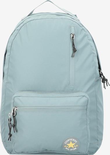 CONVERSE Rucksack 'Coated Go' in pastellblau / gelb, Produktansicht