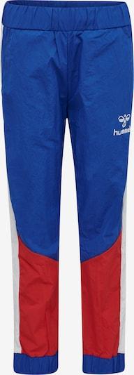 Hummel Pants in blau / rot / weiß, Produktansicht