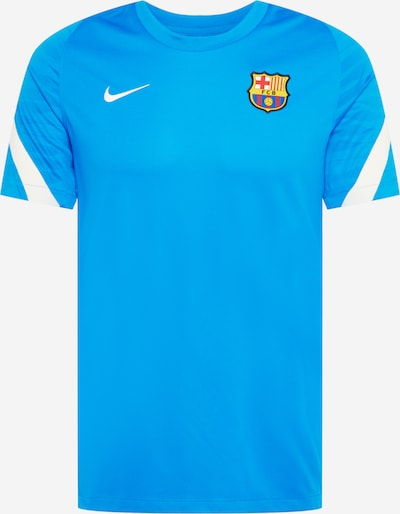 NIKE T-Shirt fonctionnel 'FC Barcelona Strike' en bleu clair / blanc, Vue avec produit