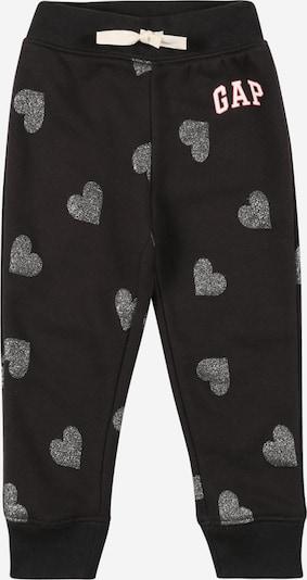 GAP Hose in pink / schwarz / silber / weiß, Produktansicht