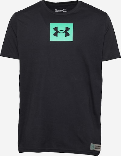 UNDER ARMOUR Funkční tričko ' BOXED ALL ATHLETES' - nefritová / černá, Produkt