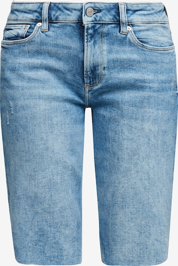 Q/S designed by Jeans 'Catie' in de kleur Blauw, Productweergave