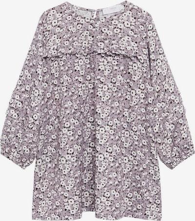 MANGO KIDS Kleid 'Violeta' in pastelllila / weiß, Produktansicht