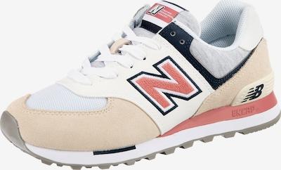 new balance Sneaker in beige / dunkelblau / grau / melone / weiß, Produktansicht