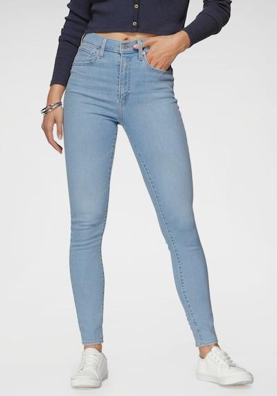 LEVI'S Vaquero 'MILE HIGH Super Skinny' en azul denim, Vista del modelo