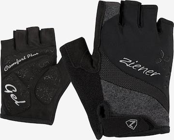 ZIENER Athletic Gloves 'CREOLAH Lady' in Black