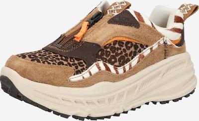 Sneaker low UGG pe caramel / maro deschis / maro închis / portocaliu / alb, Vizualizare produs