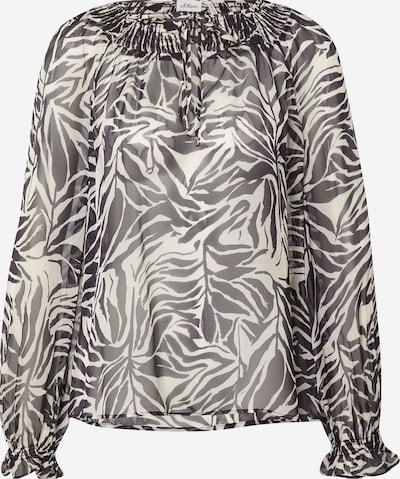 s.Oliver BLACK LABEL Bluse in beige / schwarz, Produktansicht