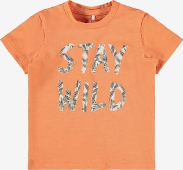 NAME IT Shirt 'Jason' in Orange