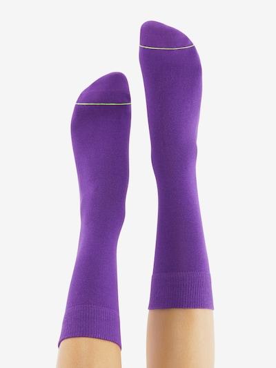 CHEERIO* Socken 'BEST FRIEND' in lila: Rückansicht