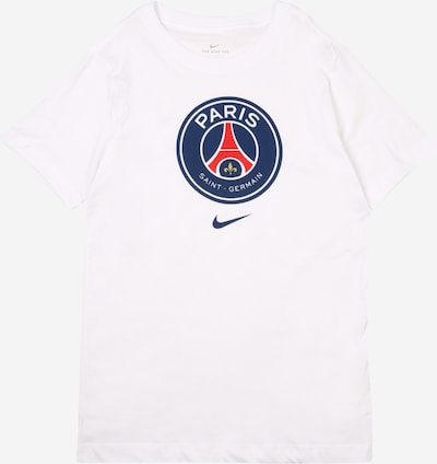 NIKE Funktionsshirt 'Paris Saint-Germain' in blau / rot / weiß, Produktansicht