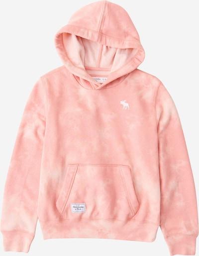 Abercrombie & Fitch Sudadera en rosa / blanco: Vista frontal