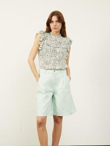 Aligne Bandplooi jeans 'Cely' in Blauw