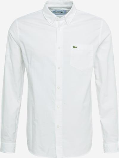 LACOSTE Košile - světle zelená / bílá, Produkt