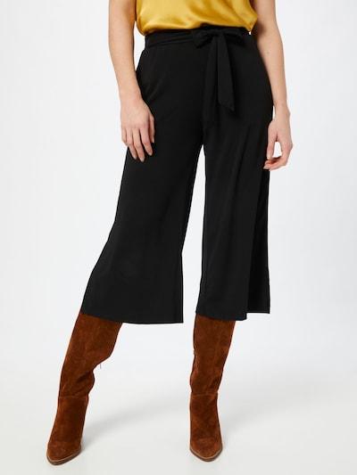 Kaffe Pantalon à pince en noir, Vue avec modèle