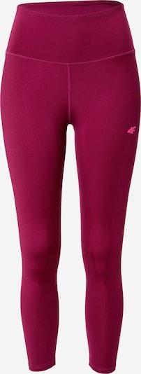 4F Športové nohavice - ružová / burgundská, Produkt