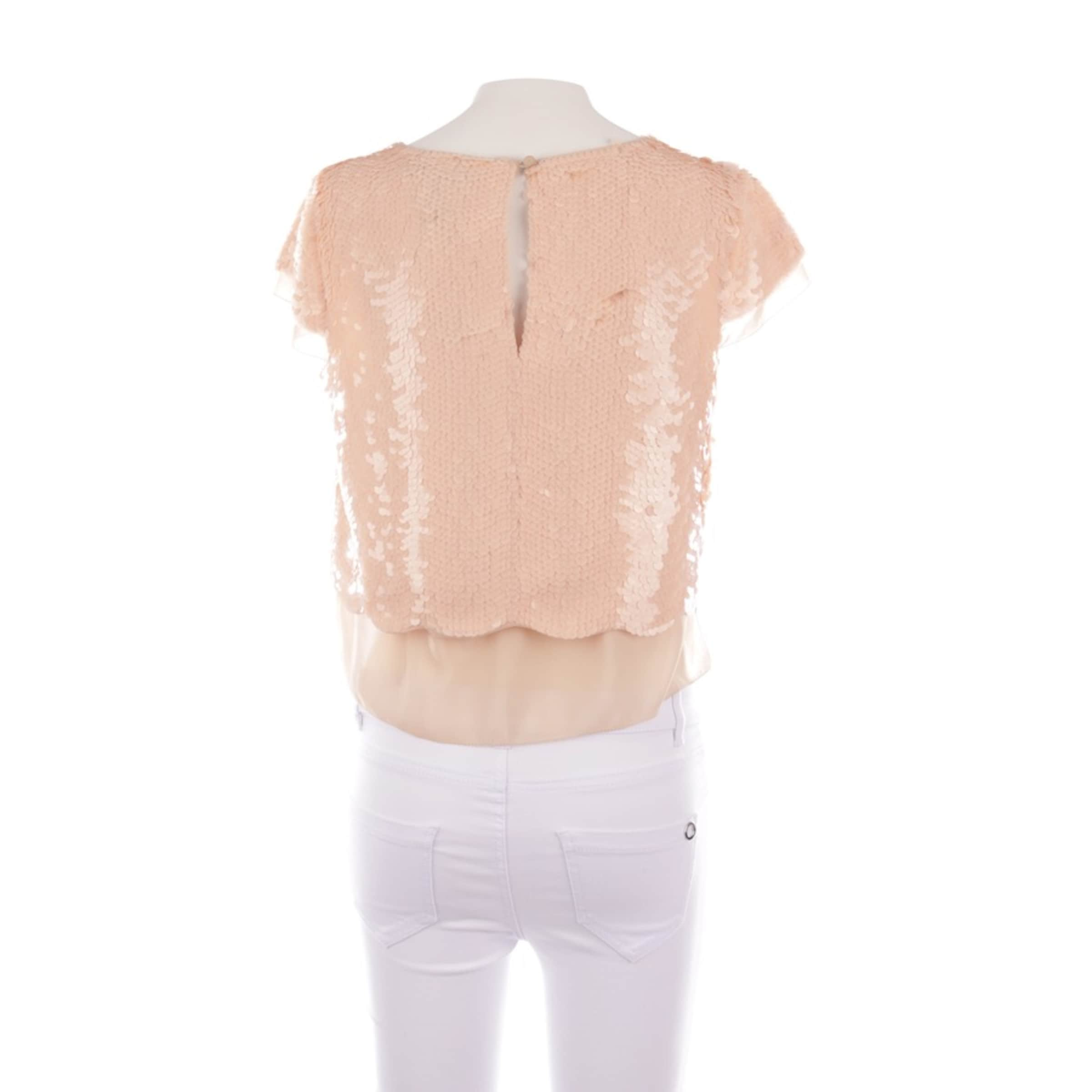 BCBGeneration Paillettentop in XS in lachs