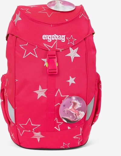 ergobag Mini Kindergartenrucksack 30 cm in mischfarben / neonpink / rot, Produktansicht