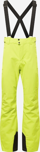 PROTEST Outdoor Pants 'OWENS' in Lime / Black, Item view