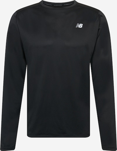 new balance Αθλητική μπλούζα φούτερ σε μαύρο / λευκό, Άποψη προϊόντος