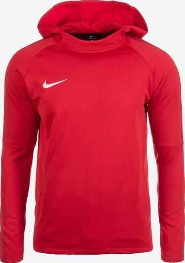 NIKE Sportsweatshirt 'Dry Academy 18' in de kleur Lichtrood / Wit, Productweergave