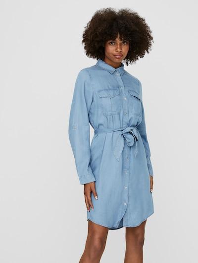 VERO MODA Košulja haljina 'MIA' u plavi traper, Prikaz modela