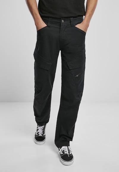 Brandit Карго панталон в черно, Преглед на модела