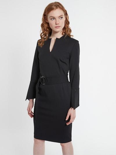Ana Alcazar Robe fourreau 'Bedea' en noir, Vue avec modèle