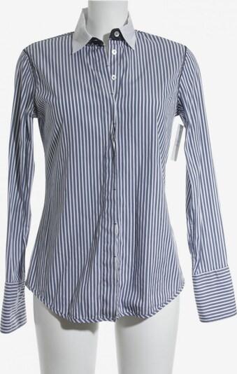 Max Volmáry Langarmhemd in S in rauchblau / weiß, Produktansicht