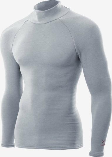 ZEROFIT Functioneel shirt ' HEATRUB ULTIMATE ' in de kleur Grijs, Productweergave