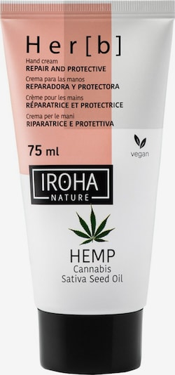Iroha Handcreme in weiß, Produktansicht