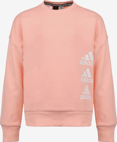 ADIDAS PERFORMANCE Sportief sweatshirt in de kleur Zalm roze / Wit, Productweergave