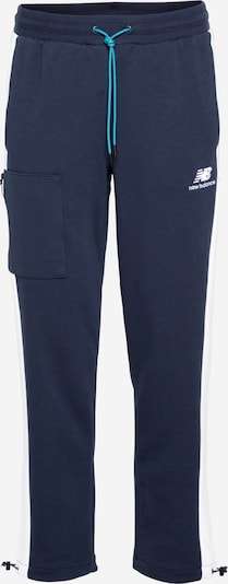 new balance Sportbroek 'Athletics Fleece' in de kleur Blauw / Wit, Productweergave