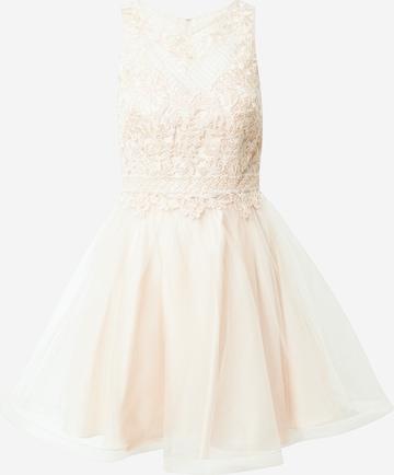 Laona Cocktail Dress in Beige