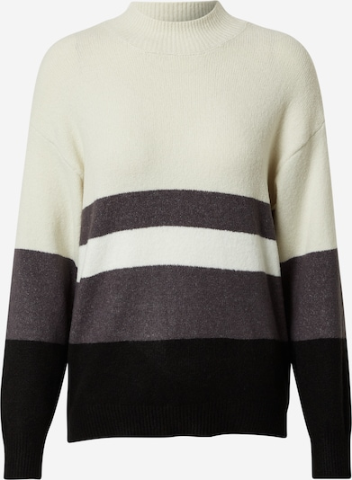 Pulover Dorothy Perkins pe gri închis / negru / alb, Vizualizare produs