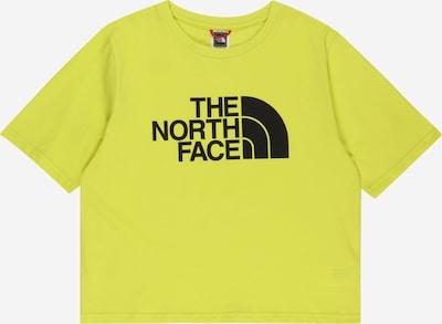 THE NORTH FACE Funkční tričko - limone / černá, Produkt