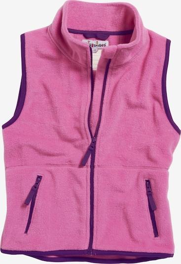 PLAYSHOES Kamizelka w kolorze ciemnofioletowy / różowym, Podgląd produktu