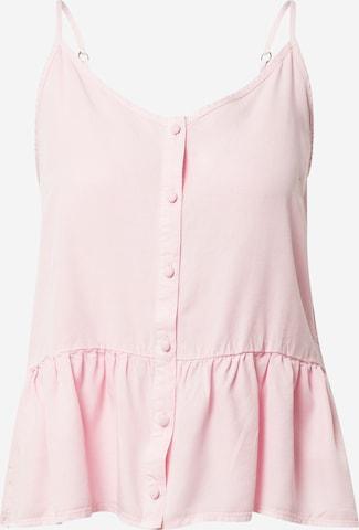 VERO MODA Top 'SILLA' in Roze