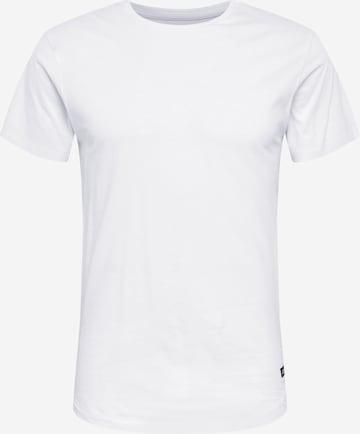INDICODE JEANS Paita 'Mosley' värissä valkoinen
