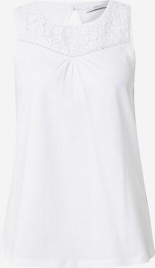 EDC BY ESPRIT Top in weiß, Produktansicht