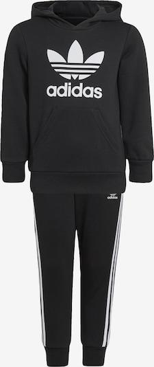 ADIDAS ORIGINALS Sweatsuit in Black / White, Item view