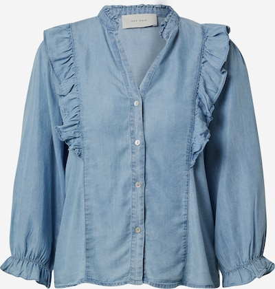 Neo Noir Bluzka 'Charlot Chambray' w kolorze niebieskim, Podgląd produktu