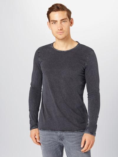 Marškinėliai iš Q/S designed by , spalva - juoda, Modelio vaizdas
