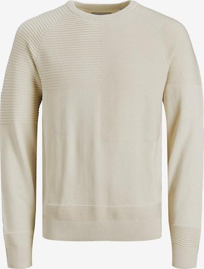 JACK & JONES Pullover in hellbeige, Produktansicht