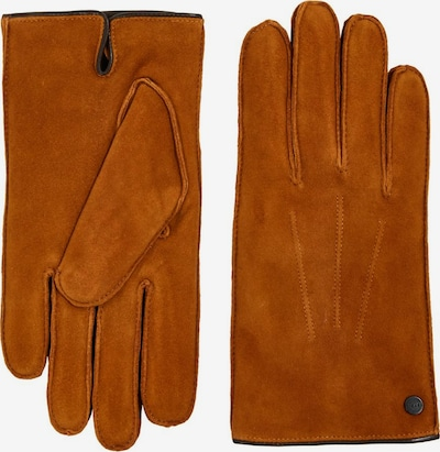 ESPRIT Vingerhandschoenen in de kleur Karamel, Productweergave
