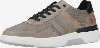BULLBOXER Sneaker in hellbeige / hellbraun / schwarz, Produktansicht