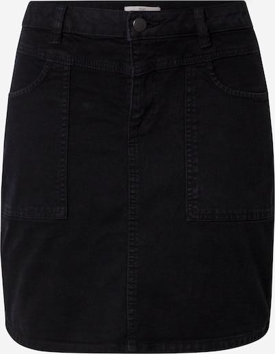 EDC BY ESPRIT Spódnica w kolorze czarny denimm: Widok z przodu