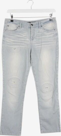 SET Jeans in 28 in hellblau / weiß, Produktansicht